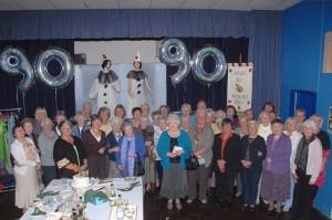 Dale WI 90th anniversary champagne